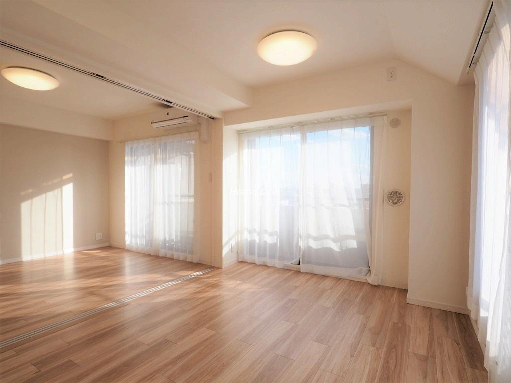 レーベンハイム常盤台プラザ6階 南西向き角住戸 陽当たり良好