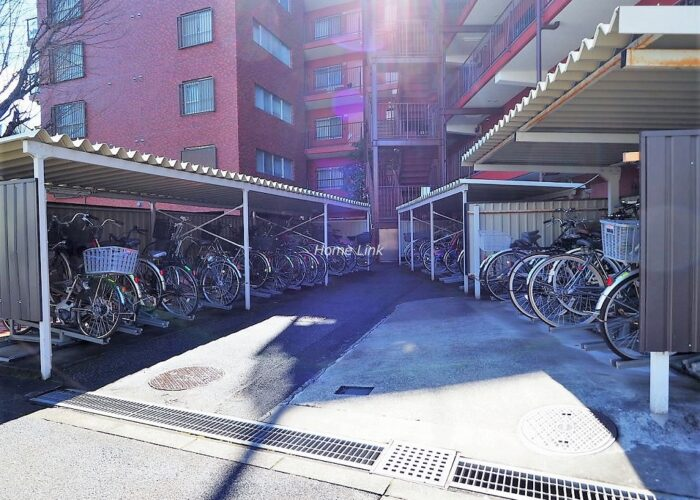 三田上板橋ガーデン 駐輪場