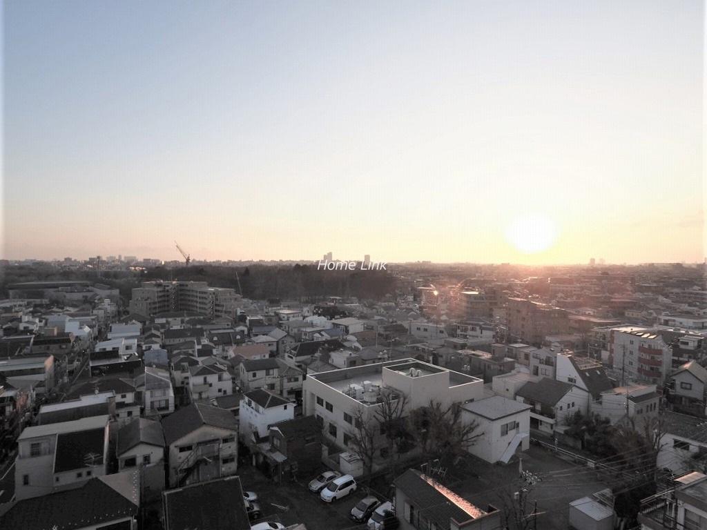 桜川三浦マンション10階 新宿のビル群も見え、夜景も楽しめ