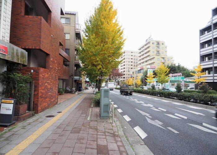桜川三浦マンション 前面道路歩道