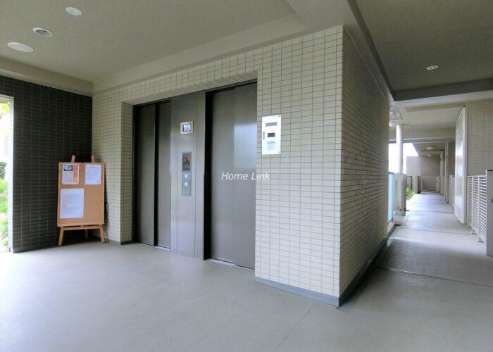 コスモ東京ガーデンパークス エレベーターホール