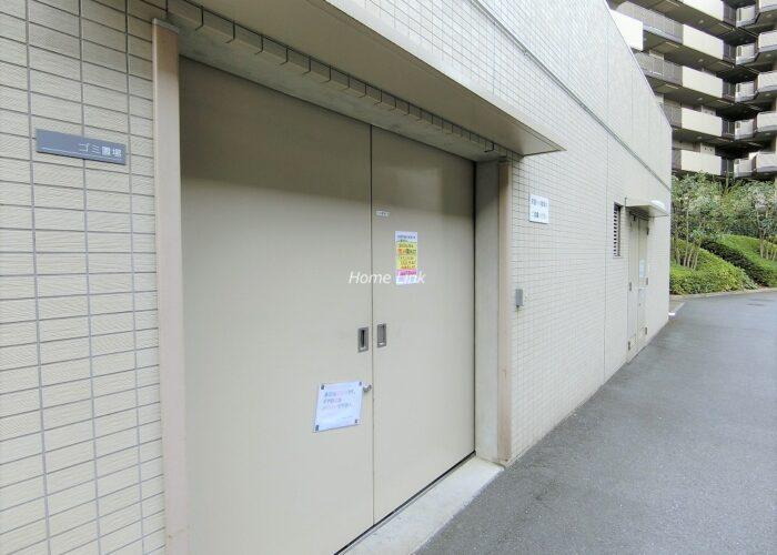 コスモ東京ガーデンパークス ゴミ置き場