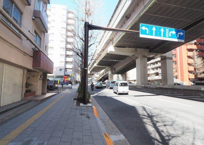 パラストネオ板橋 前面道路歩道