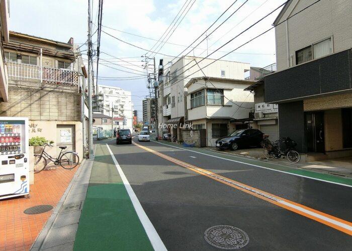 パレ・ドール富士見町 前面道路