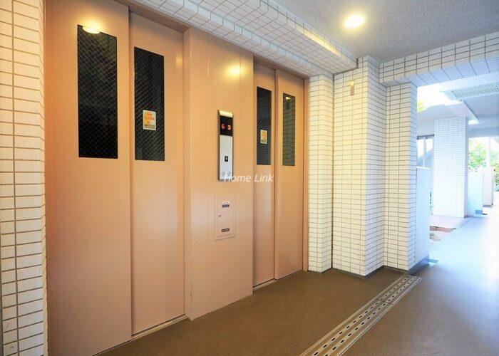 ベリスタ板橋浮間舟渡 エレベーターホール