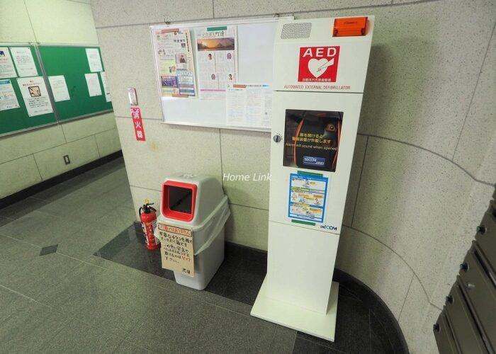 中板橋セントラルマンション AED設置
