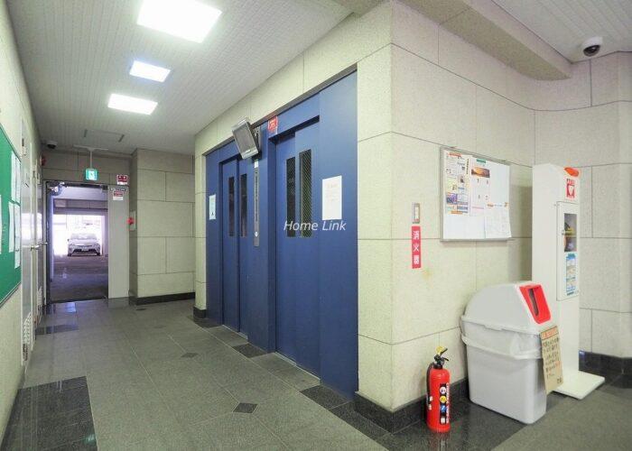 中板橋セントラルマンション エレベーターホール