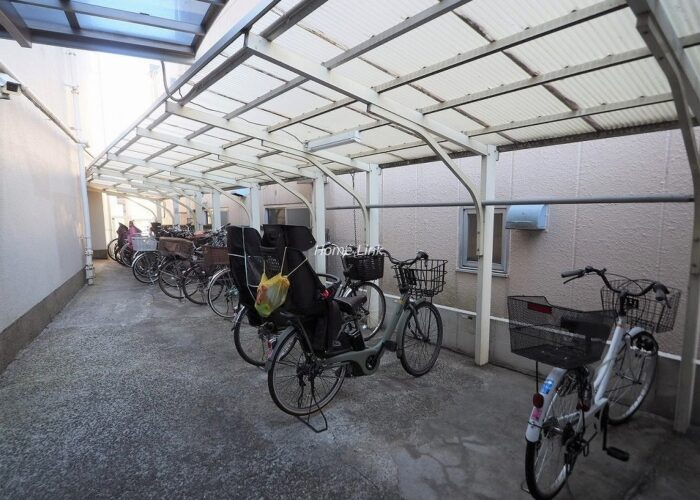 中板橋セントラルマンション 駐輪場