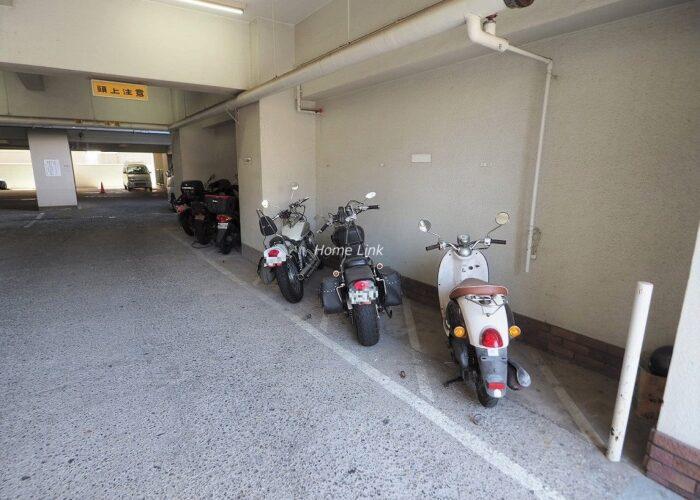 中板橋セントラルマンション バイク置き場
