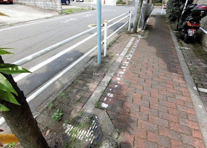 東建ニューハイツ赤塚公園 前面道路歩道
