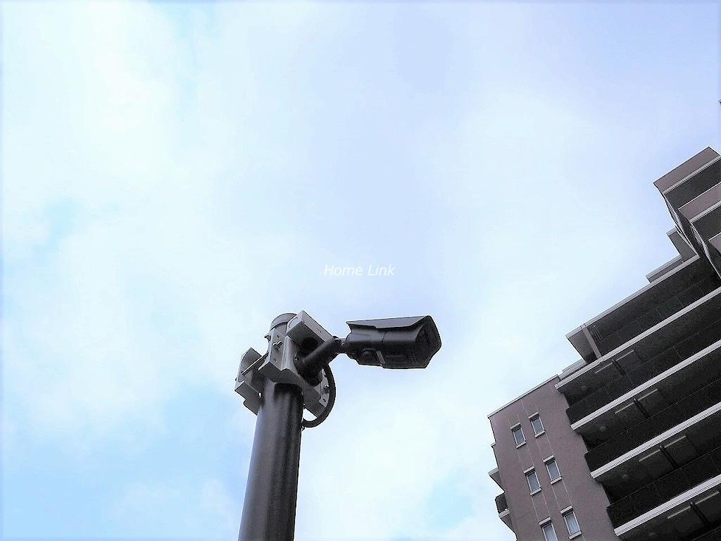 ライオンズグラマシーハウス 防犯カメラ