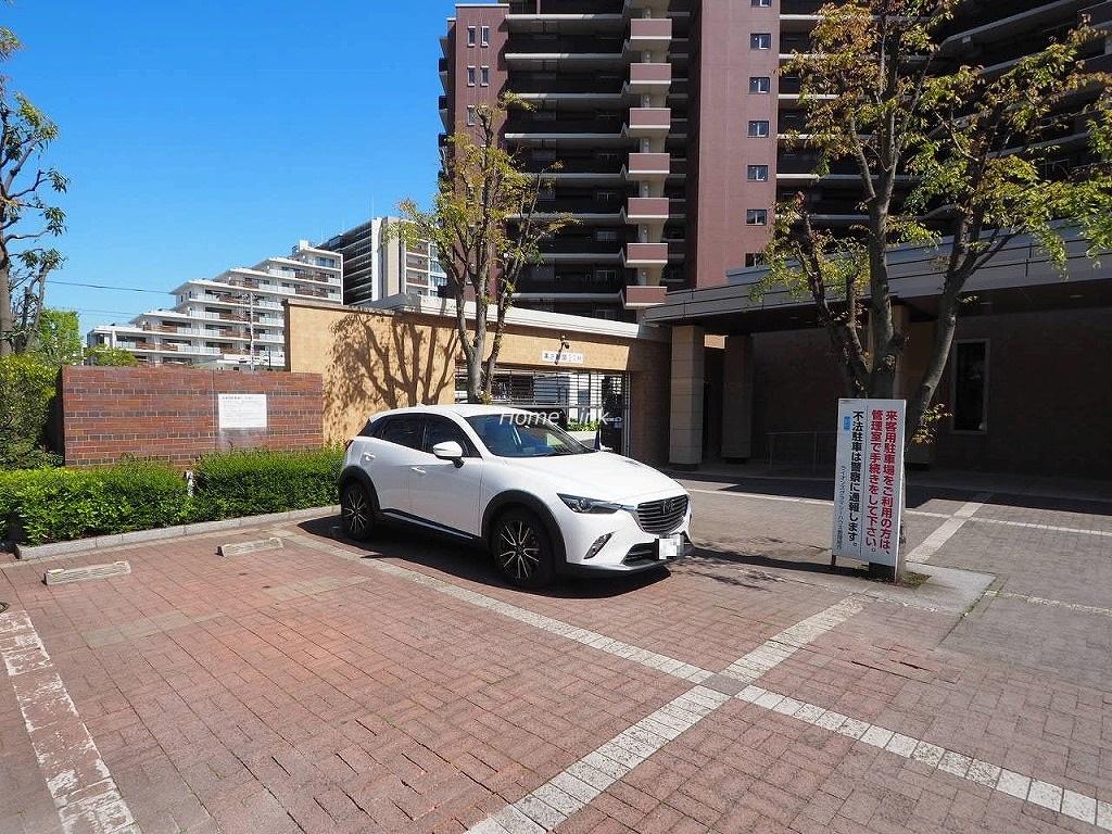 ライオンズグラマシーハウス 来客用駐車場
