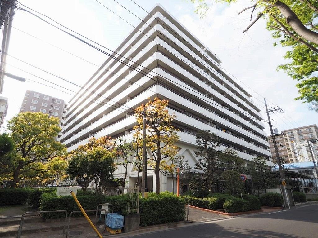 戸田公園スカイマンション 東側外観