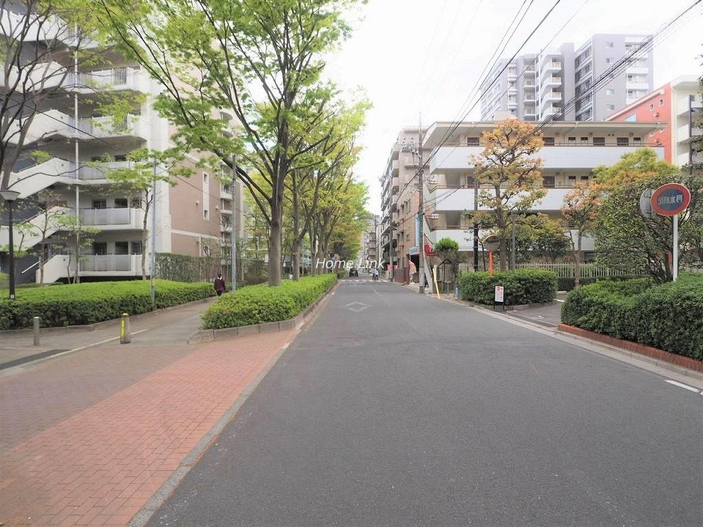 戸田公園スカイマンション 前面道路