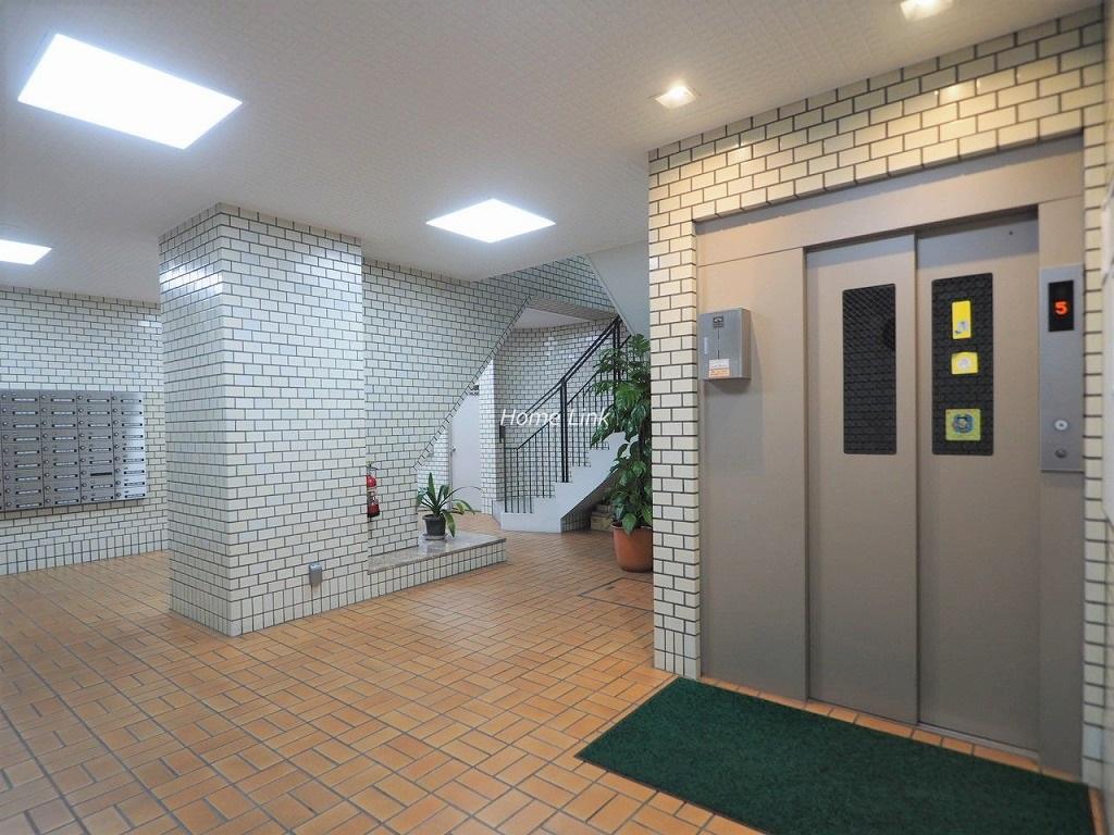 戸田公園スカイマンション エレベーターホール