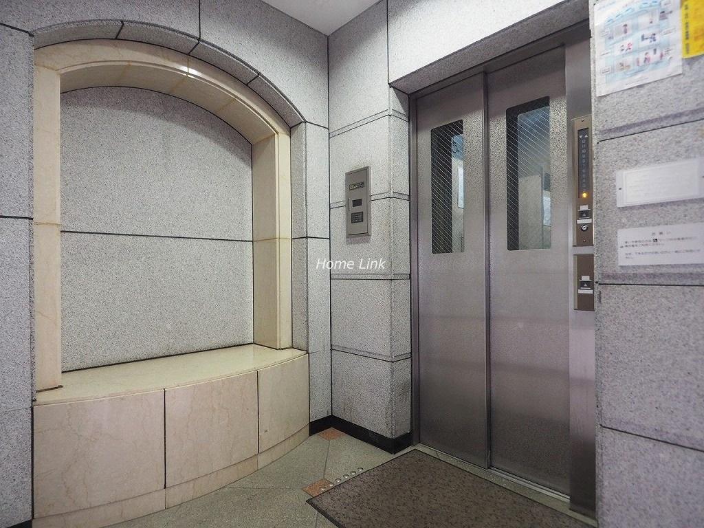 ライオンズプラザときわ台 エレベーターホール