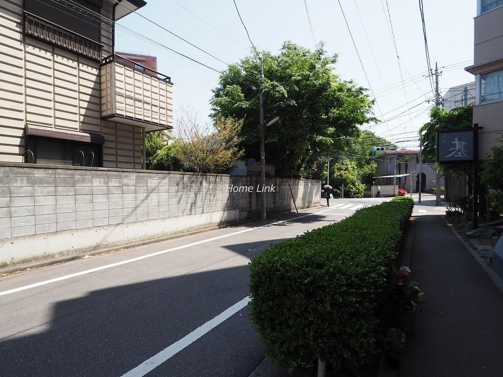 志村坂上パークハイツ 前面道路