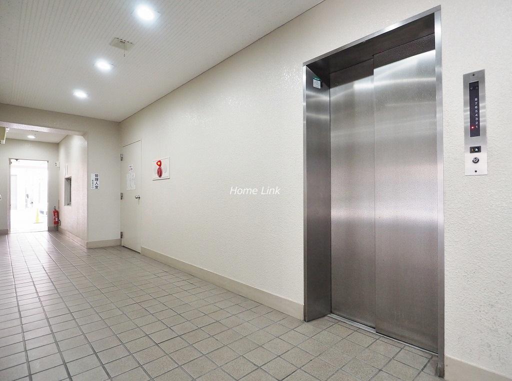 志村坂上パークハイツ エレベーターホール