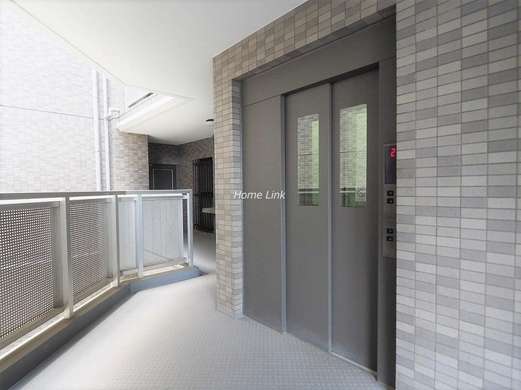 キャニオングランデ中台 エレベーターホール