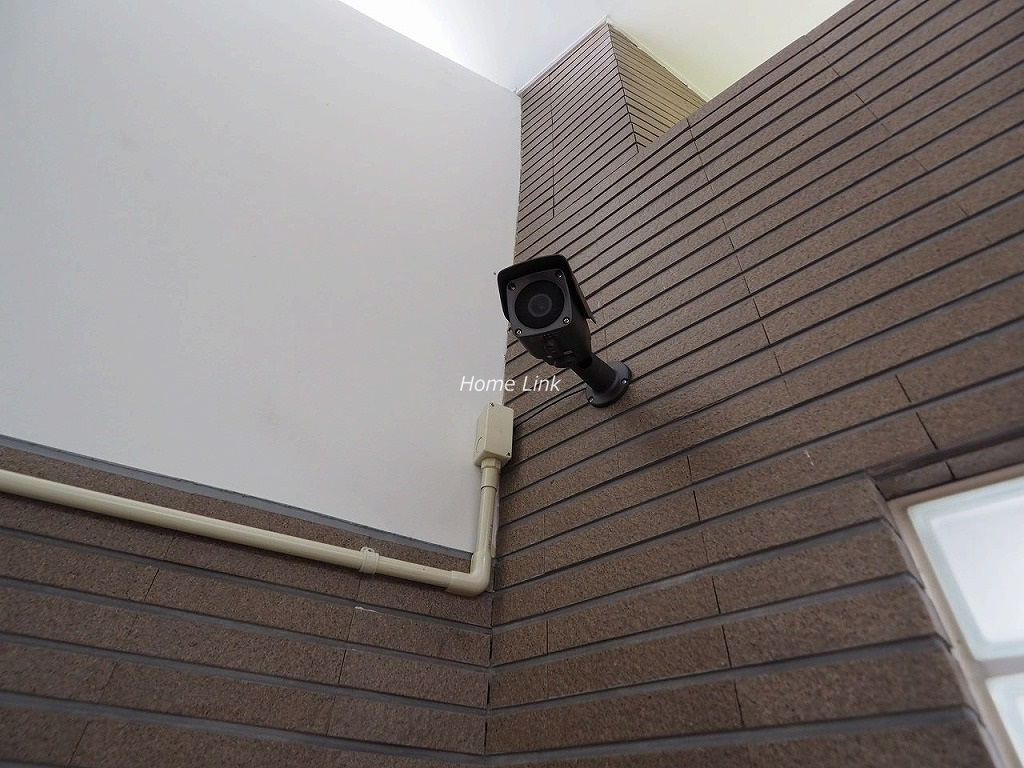 キャニオングランデ中台 防犯カメラ