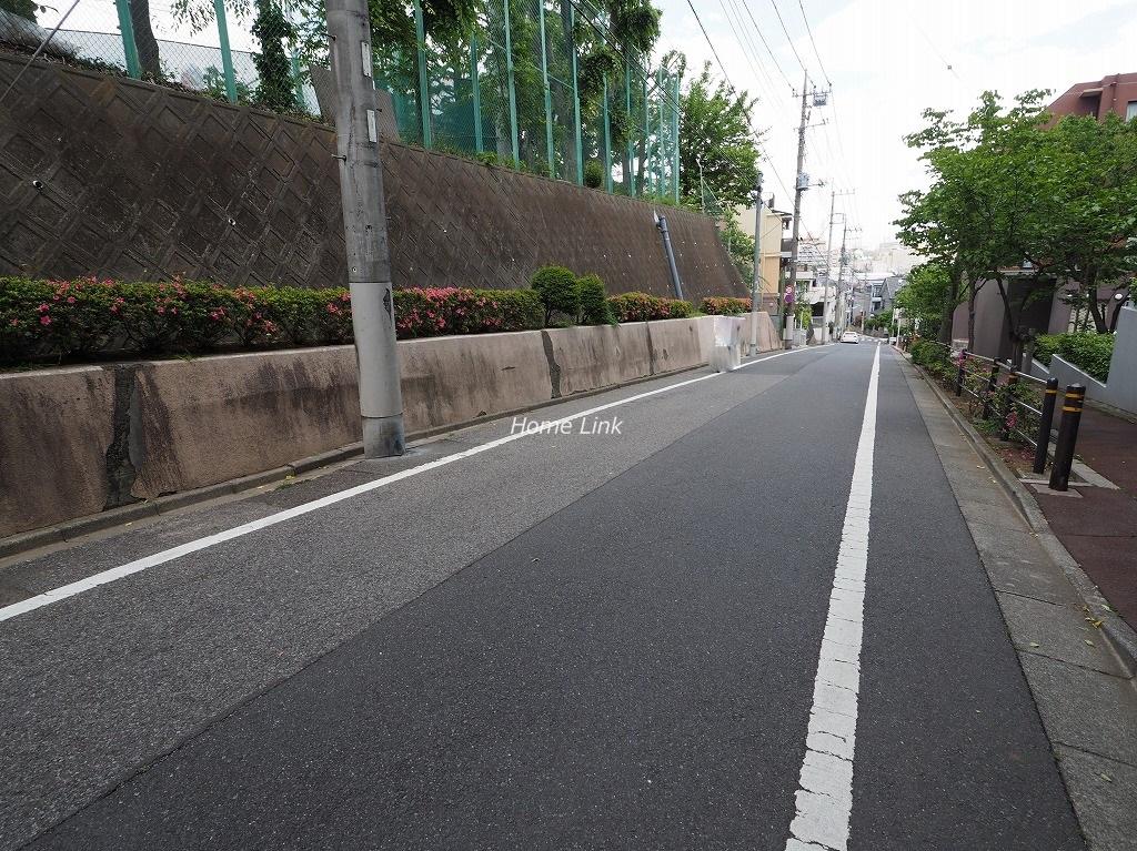 シャルマンコーポ板橋徳丸 前面道路