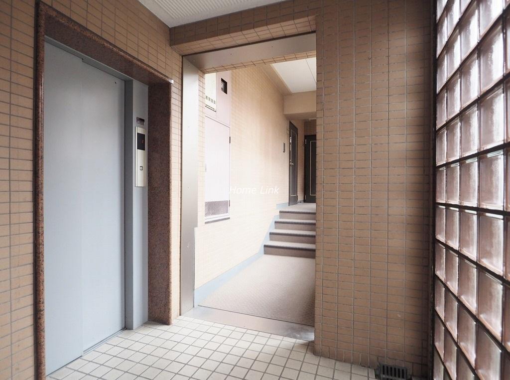 シャロン志村坂上セカンドステージ エレベーターホール