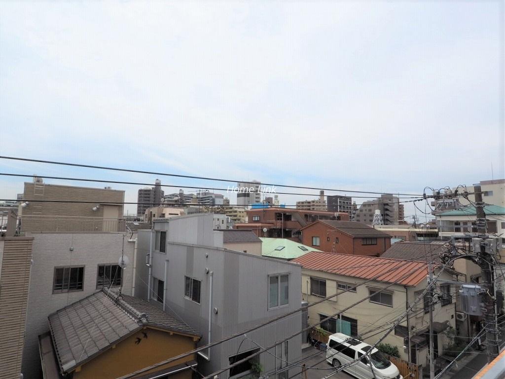 ダイアパレス大山4階 南側バルコニーからの開けた眺望