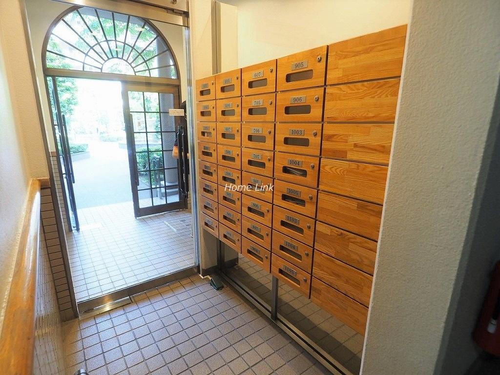 モアクレスト西台 メールボックス