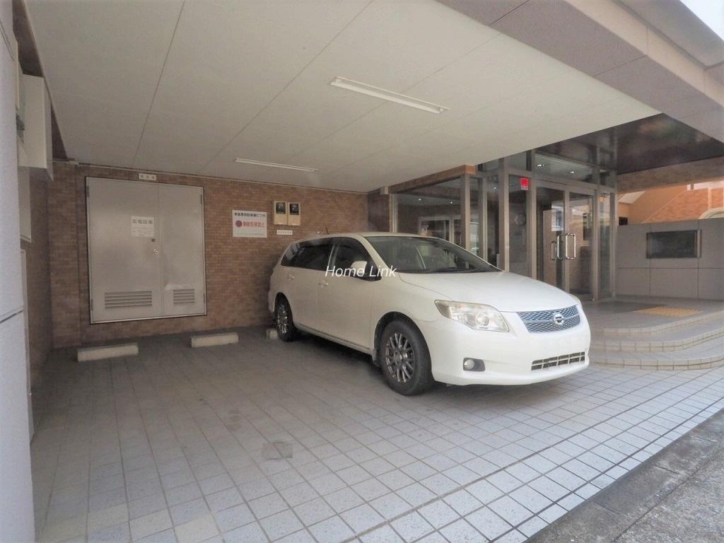 ライオンズマンション新高島平 来客用駐車場