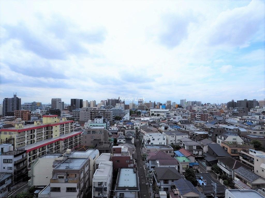 G・コンフォート大山山手通り11階 11階建ての最上階 開けた眺望