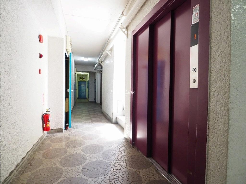 サンライフマンション エレベーターホール