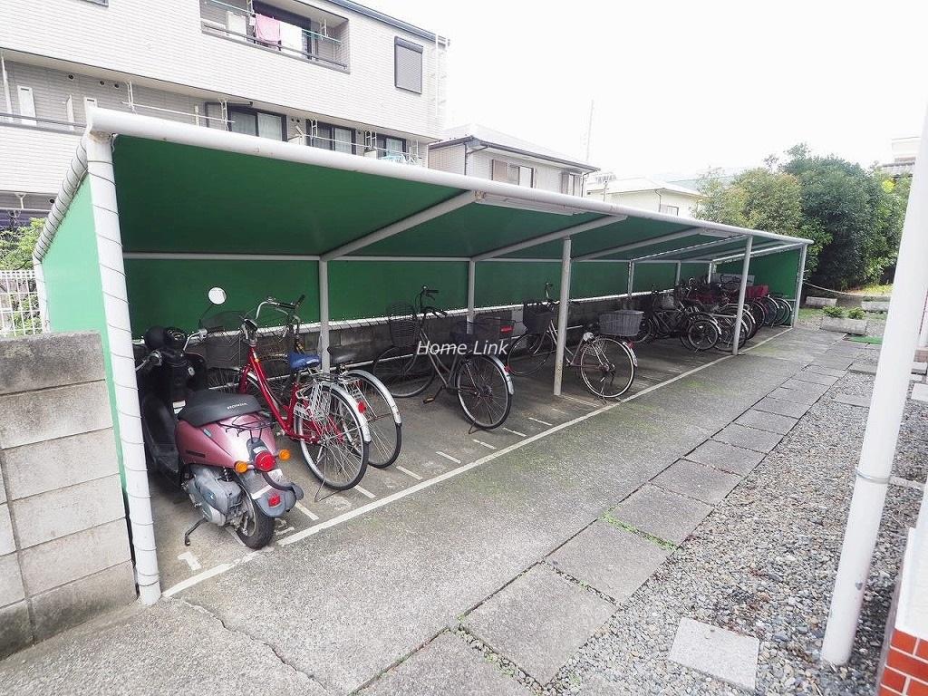 サンライフマンション 駐輪場