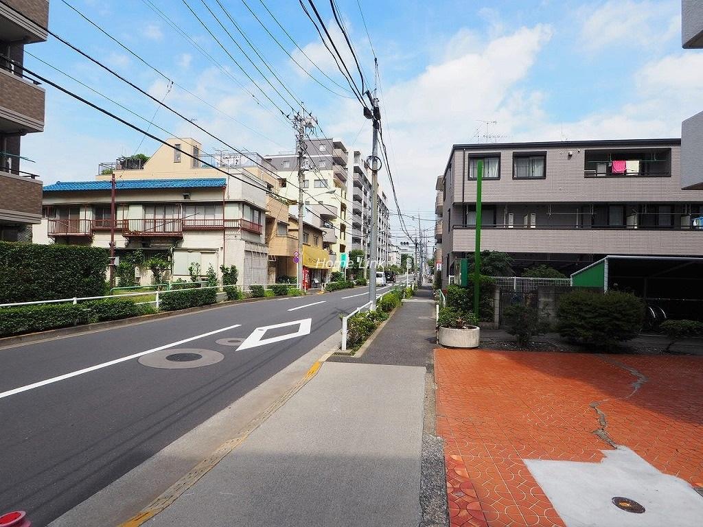 サンライフマンション 前面道路歩道