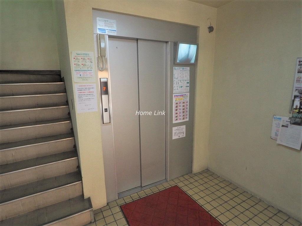 ハイビレッジ常盤台 エレベーターホール