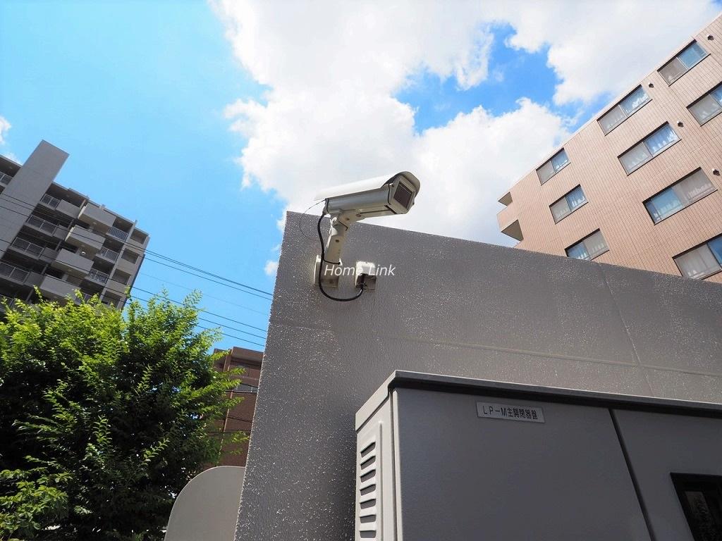 メロディーハイム川口元郷フィールエアー 防犯カメラ