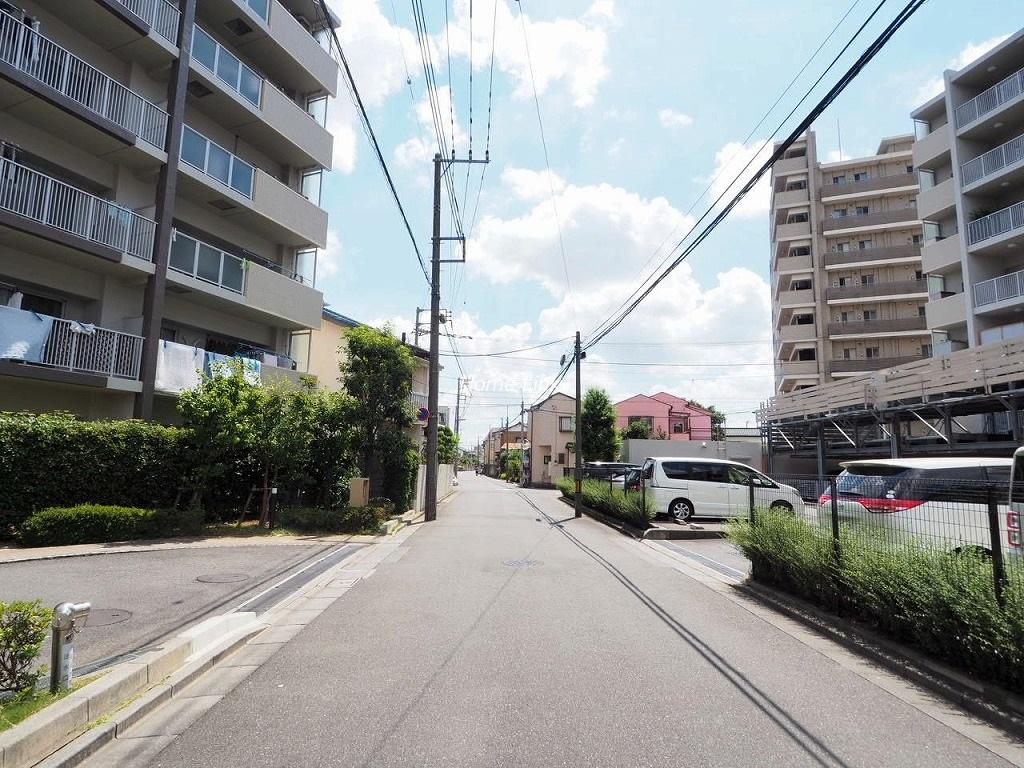 メロディーハイム川口元郷フィールエアー 前面道路