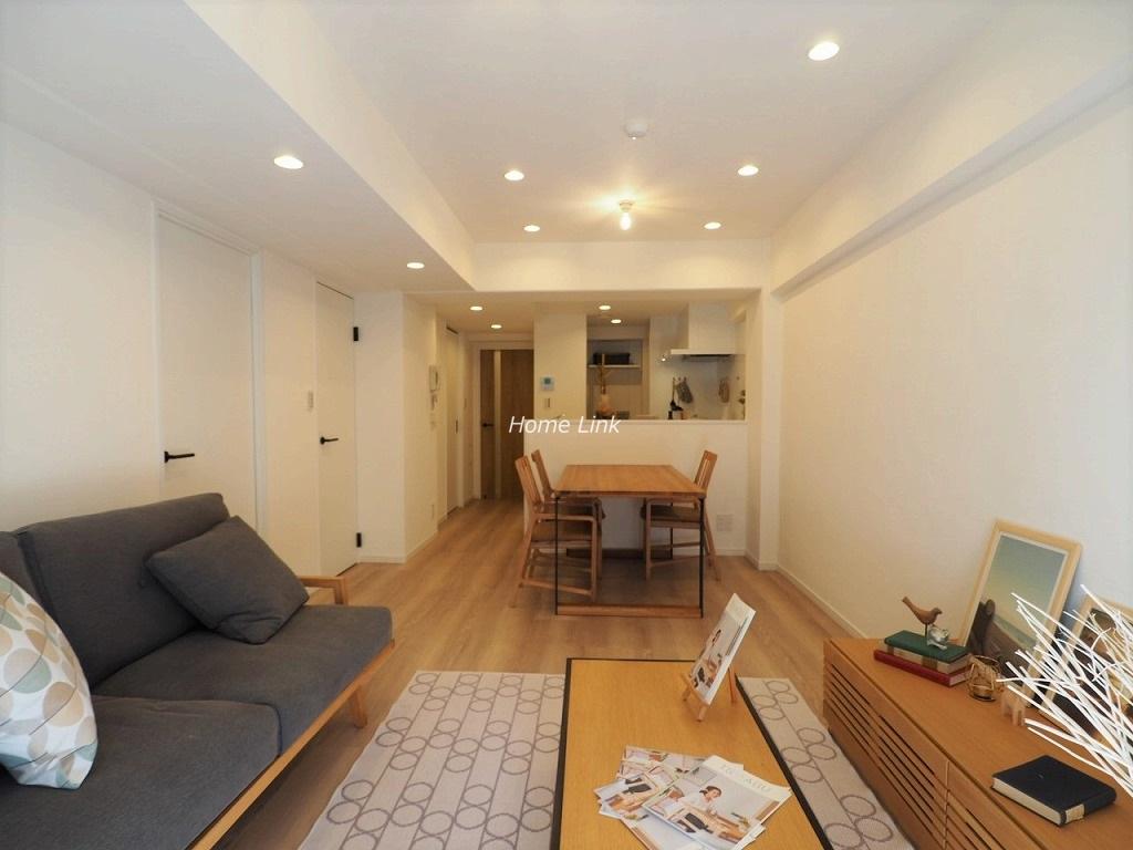 小豆沢パークファミリアB棟1階 南向きで専用庭が付いている住戸