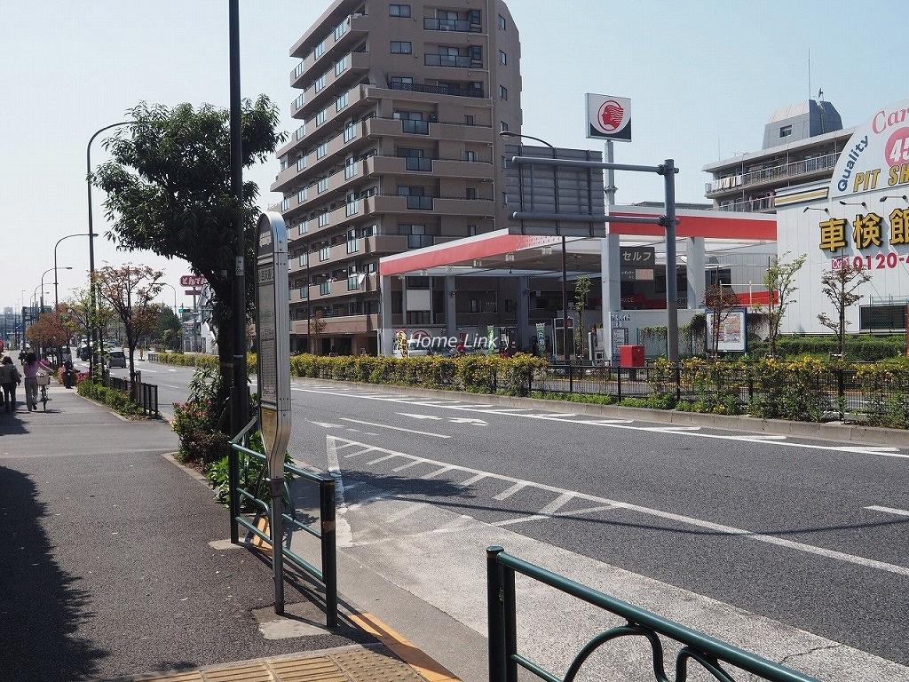 小豆沢パークファミリアB棟 前面道路歩道