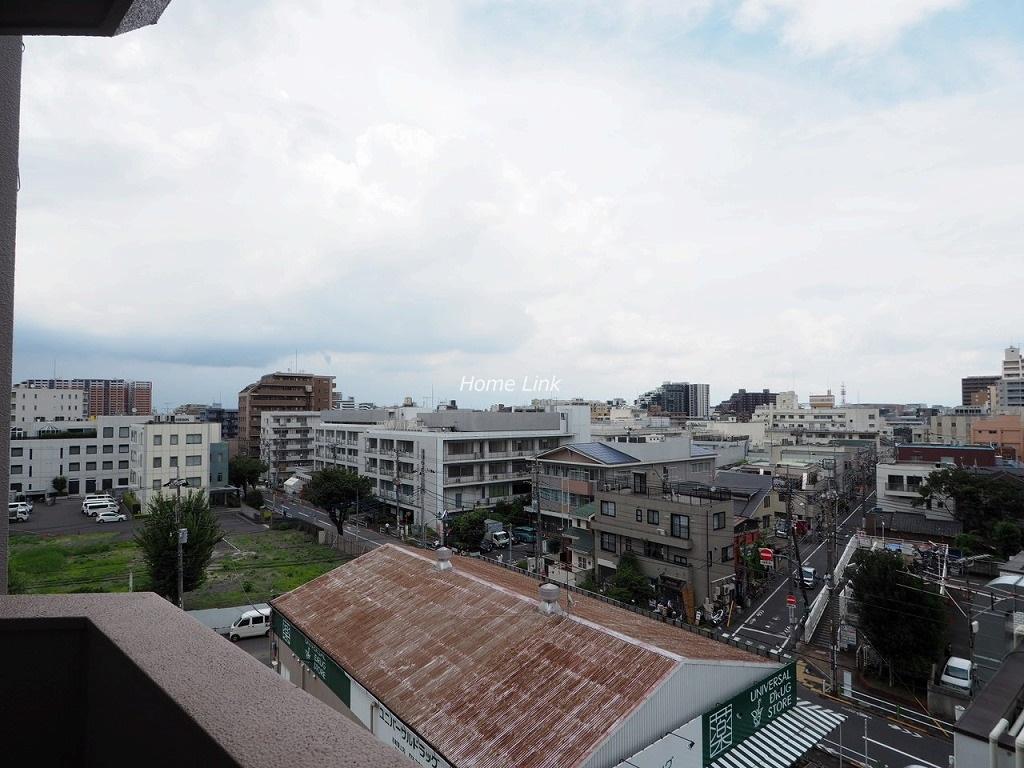 小豆沢ローズハイム6階 気持ちのいい眺望が広がります