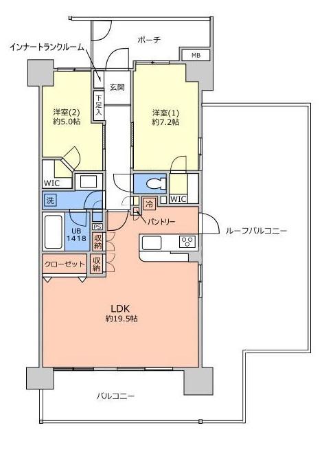 メロディーハイム川口元郷フィールエアー7階