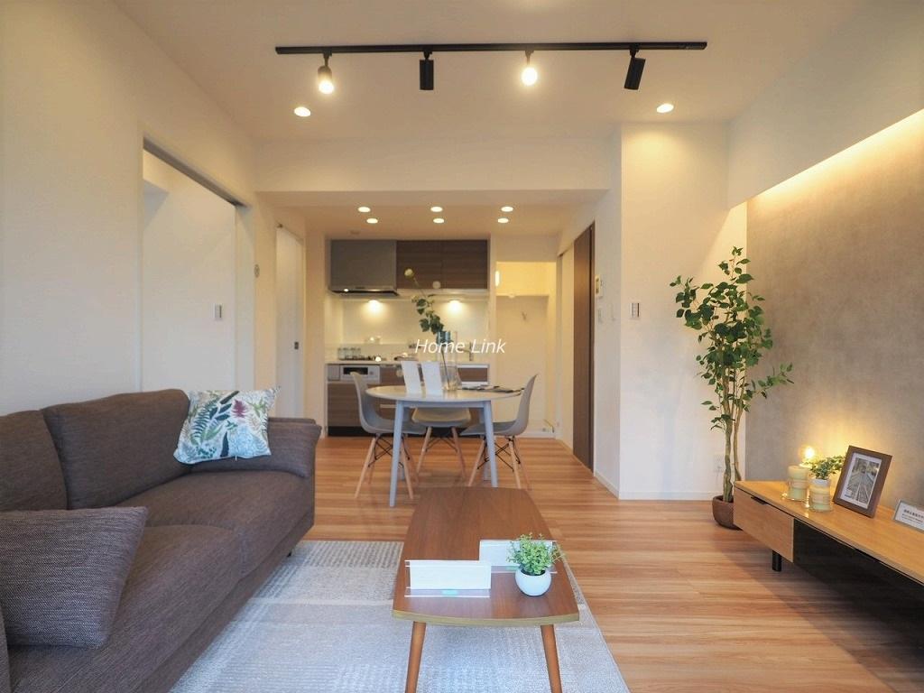 中板橋オリンピックマンション4階 家具付きリノベーション物件
