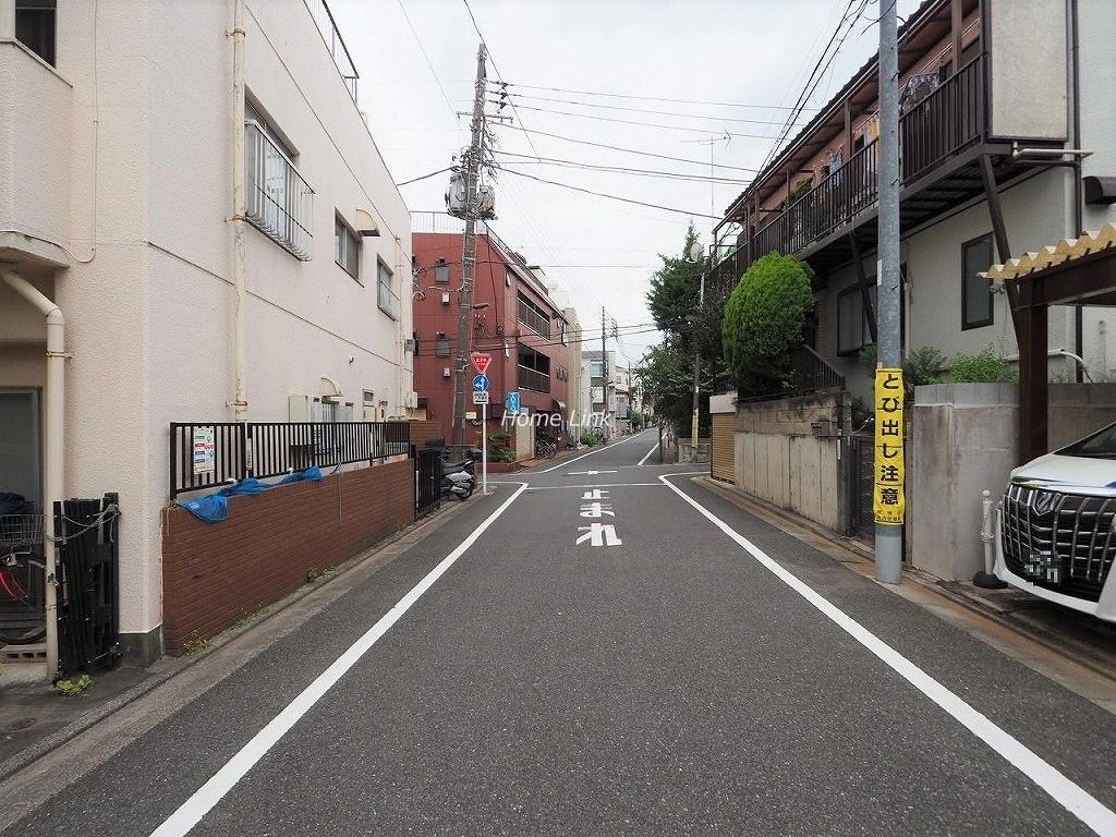中板橋オリンピックマンション 前面道路