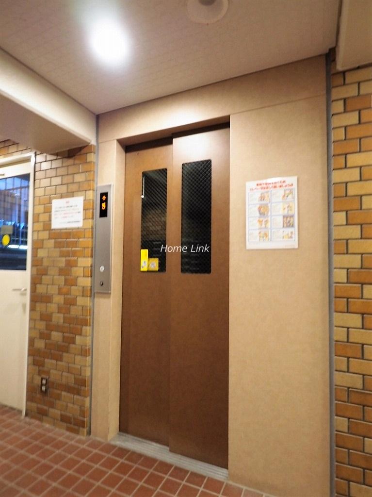 ソフトタウン板橋区役所前 エレベーターホール