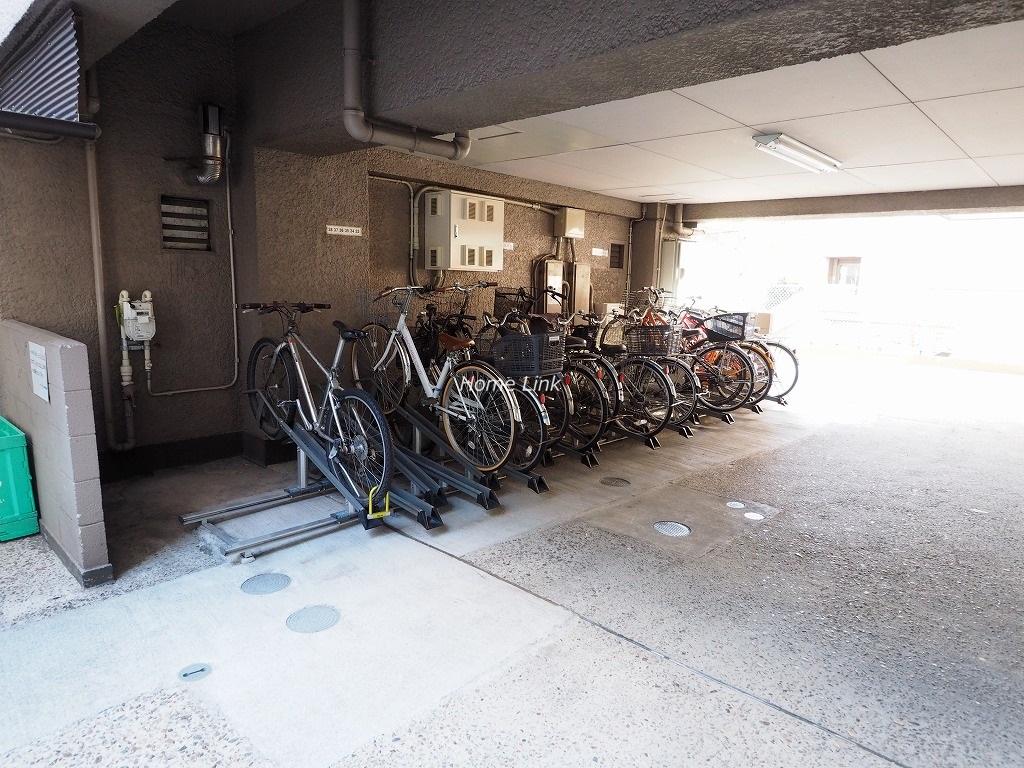 チサンマンション板橋 駐輪場