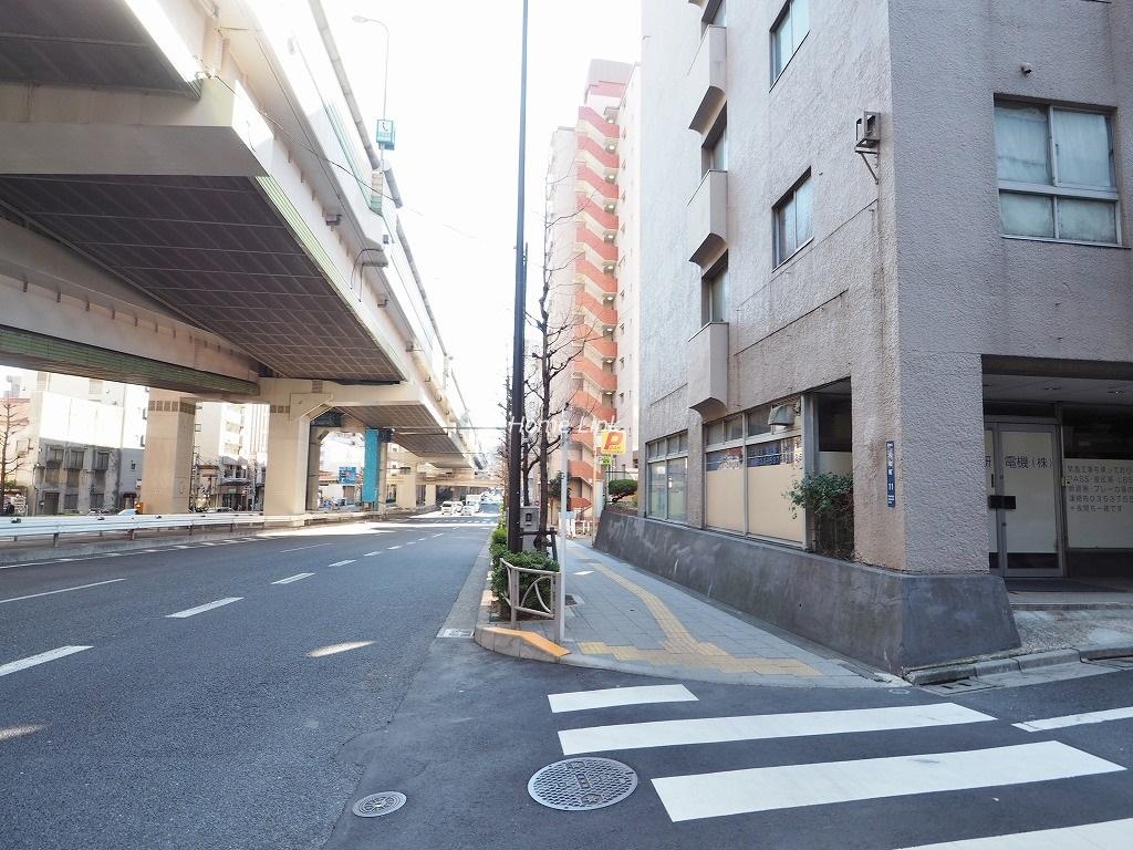 チサンマンション板橋 前面道路