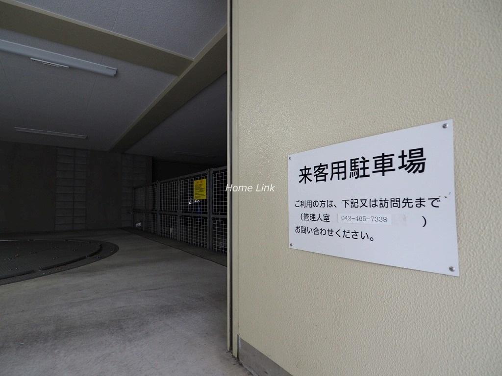 プレシス浮間舟渡駅前 来客用駐車場