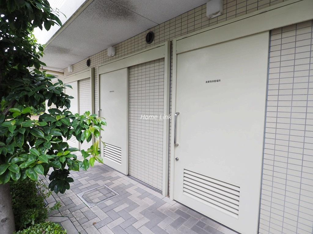 プレシス浮間舟渡駅前 ゴミ置き場