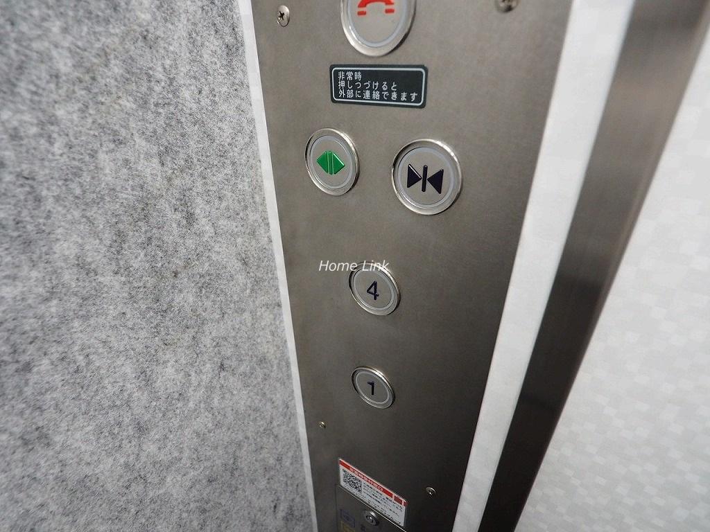 日神パレス板橋本町 エレベーター停止階
