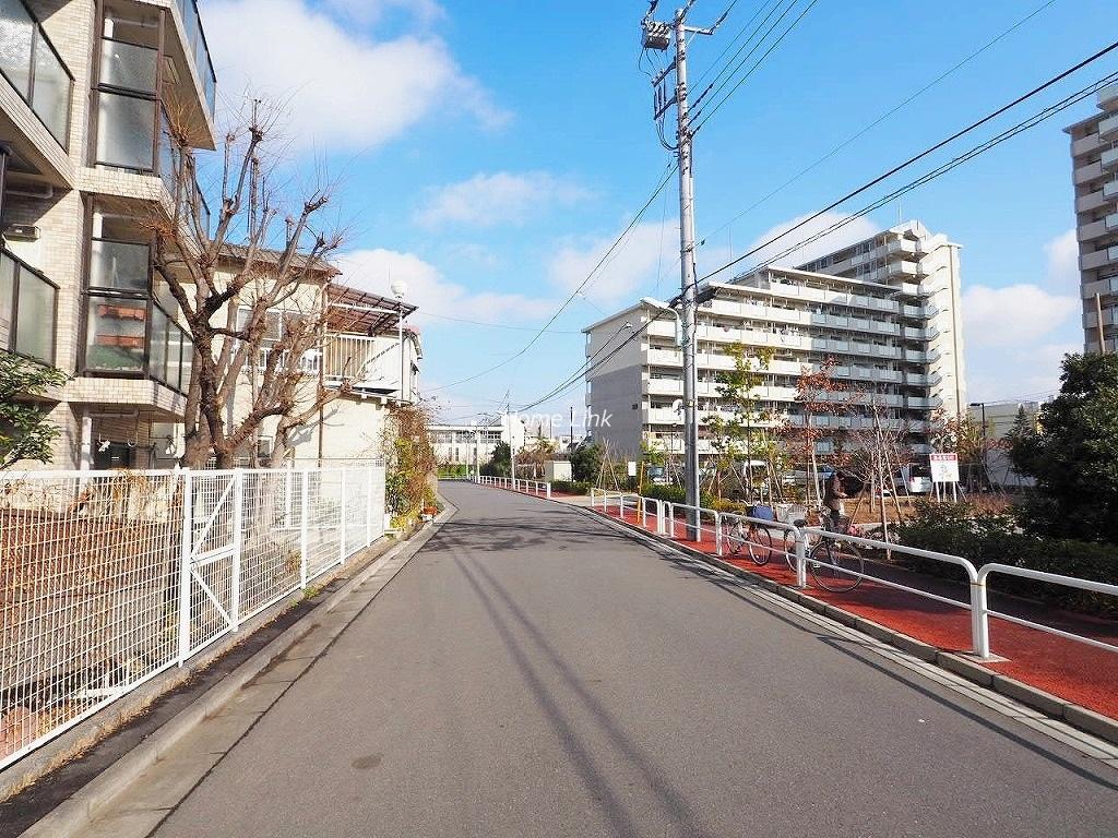日神パレス板橋本町 前面道路