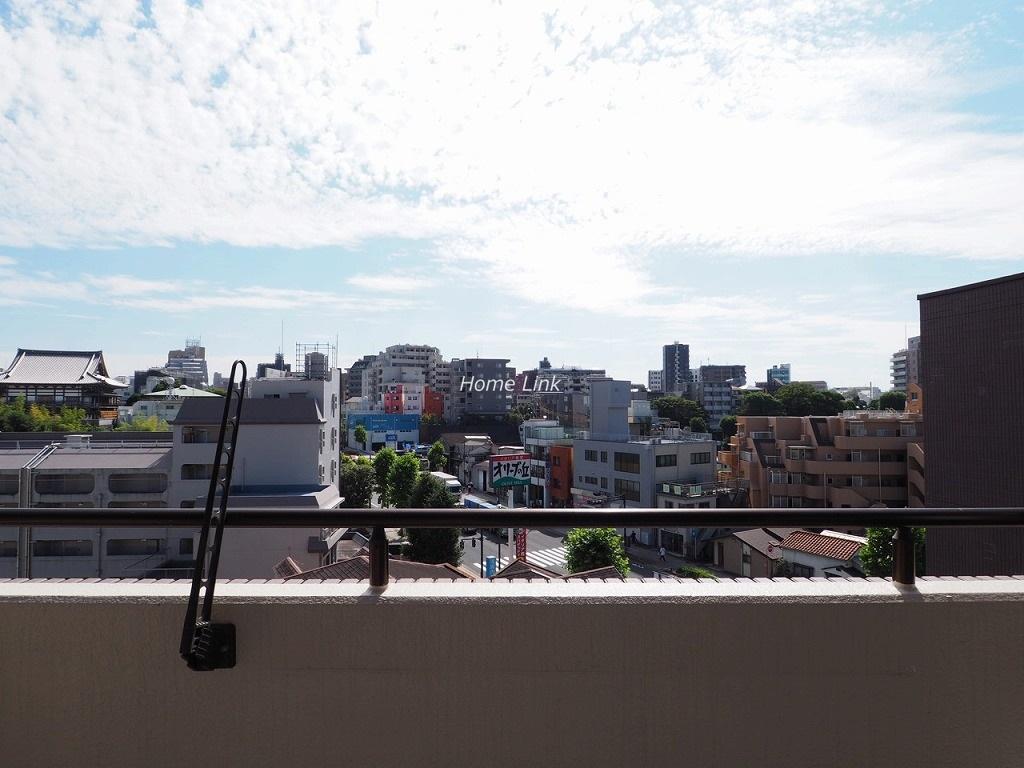 ナイスアーバン志村坂上8階 最上階から広がる開けた眺望